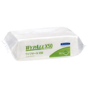 (まとめ)日本製紙クレシア ワイプオールX50 ハンディワイパー 100枚入【×50セット】