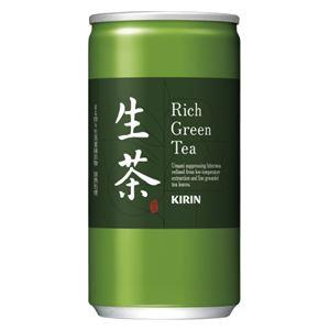 (まとめ)キリンビバレッジ 生茶 185g/20本入/1箱【×5セット】 - 拡大画像