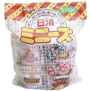 日清食品 日清 ミニーズ 5食×6パック MV5(E)