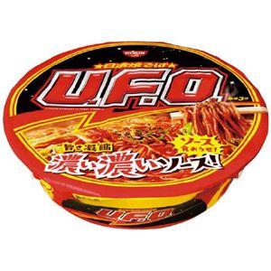 (まとめ)日清食品 焼きそばU.F.O. 12食入【×2セット】 - 拡大画像