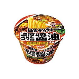 (まとめ)日清食品 日清デカうま 濃厚コク旨醤油 12食入【×5セット】 - 拡大画像