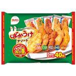 (まとめ)栗山米菓 ばかうけアソート 40枚入袋【×10セット】 border=