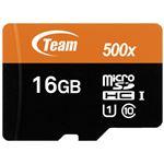 (まとめ)TEAM microSDHCカード 16GB TUSDH16GUHS03(×10セット)