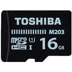 (まとめ)東芝 microSDHCカード 16GB MU-J016GX(×2セット)