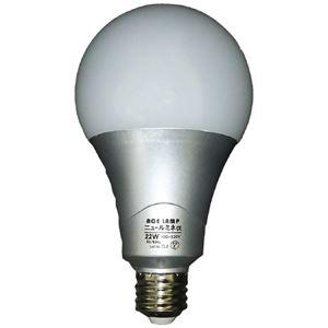 (まとめ)WINGACE LED電球 ニュールミネα22W LED-L22A(×20セット) - 拡大画像