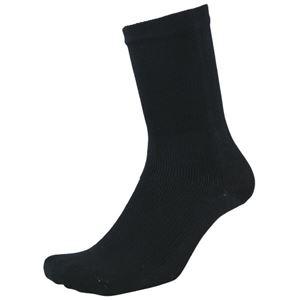 (まとめ)福徳産業 デオセル消臭靴下先丸 黒 L 2足組(×5セット) - 拡大画像