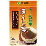 (まとめ)伊藤園  お〜いお茶ほうじ茶ティーバック20袋×20(×3セット)