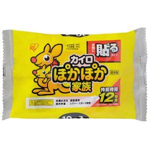 (まとめ)アイリスオーヤマ ぽかぽか家族 貼る レギュラー 10個(×20セット) - 拡大画像