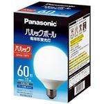 (まとめ)Panasonic 電球型蛍光灯 G60形 昼光色 EFG15ED11EF2【×3セット】