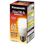 (まとめ)Panasonic 電球型蛍光灯 D60形 電球色 EFD15EL11EF2【×3セット】