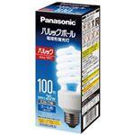 (まとめ)Panasonic 電球型蛍光灯 D100形 電球色 EFD25EL20EF2【×3セット】
