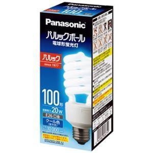 (まとめ)Panasonic 電球型蛍光灯 D100形 昼光色 EFD25ED20EF2【×3セット】 - 拡大画像