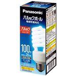 (まとめ)Panasonic 電球型蛍光灯 D100形 昼光色 EFD25ED20EF2【×3セット】