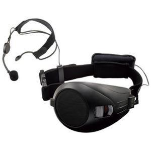 TOA ハンズフリー拡声器 ブラック ER-1000A-BK - 拡大画像