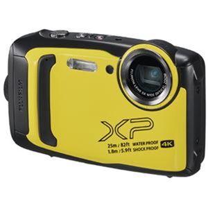 富士フイルム デジタルカメラFX-XP140Yイエロー - 拡大画像