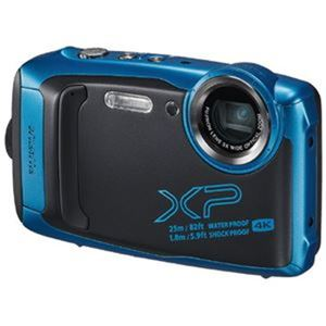 富士フイルム デジタルカメラFX-XP140SBスカイブルー - 拡大画像
