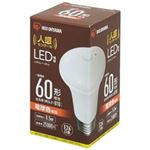 (まとめ)アイリスオーヤマ LED電球センサー付60形E26電球LDR9L-H-SE25【×5セット】