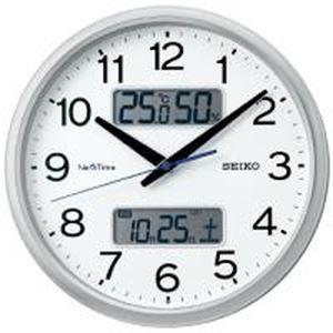 セイコークロック ハイブリッド電波時計 ZS251S - 拡大画像