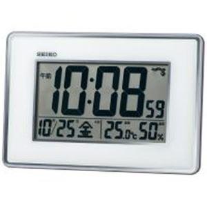 (まとめ)セイコークロック 掛置兼用電波時計 SQ443S【×5セット】 - 拡大画像