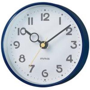 (まとめ)ノア精密 MAG 掛置兼用時計 フックプット W-752NB-Z ブルー【×5セット】 - 拡大画像