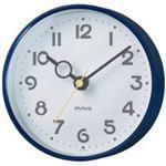 (まとめ)ノア精密 MAG 掛置兼用時計 フックプット W-752NB-Z ブルー【×5セット】