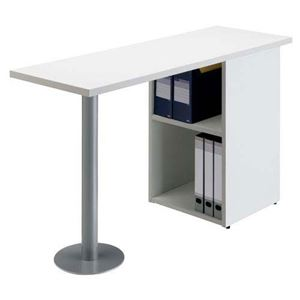 【組立設置費込】アール・エフ・ヤマカワ サイドテーブル RFST-1240WJ2 ホワイト
