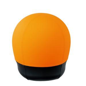 CMC スツール型バランスボール/オフィスチェア 【タイヤタイプ】 オレンジ BC-S OR