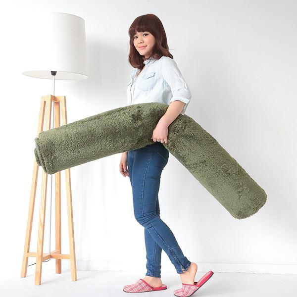 〔北欧風 丸洗い カーペット 丸型 サークル〕