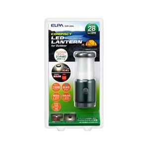 (業務用セット) ELPA LEDマグネットランタン 電球色 80ルーメン 単3形2本 DOP-L004L 【×3セット】 - 拡大画像