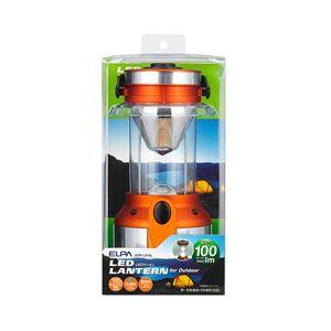 (業務用セット) ELPA LEDランタン 電球色 100ルーメン 単1形4本 DOP-L010L 【×3セット】 - 拡大画像