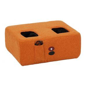 フットマッサージ エアバックマッサージ機能付 オレンジ  - 拡大画像