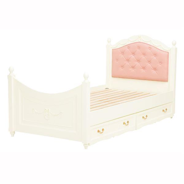収納付きベッド シングル