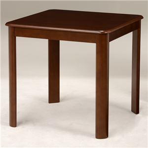 ダイニングテーブル 【正方形/ブラウン】 木製 天板:オーク突板 幅75cm×奥行75cm 木目調