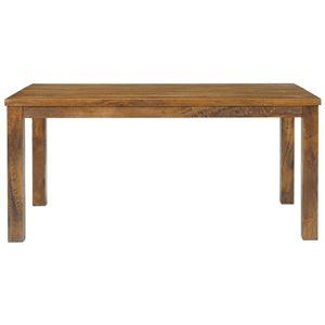 木目調ダイニングテーブル/リビングテーブル 【長方形/幅150cm】 木製 『texens』