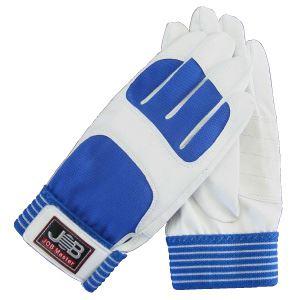 (まとめ)作業用手袋/スパイダー1  【Lサイズ×5セット/ホワイト (白)】  洗える  ジョブマスター  JWG-150WL - 拡大画像