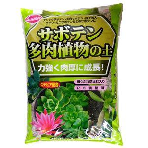 (まとめ)サンアンドホープ サボテン多肉植物の土 5L【×4セット】 - 拡大画像