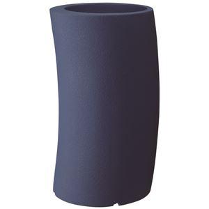 大和プラスチック ファイバーグラスシリーズ カーブ 33H型 ダークブルー - 拡大画像