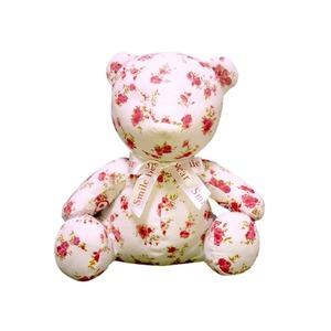 【赤ちゃんぐずり泣き対策 クマイリー】出産祝いプレゼントに大人気(全3色) 花柄(はながら) - 拡大画像