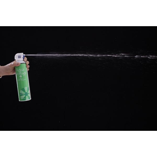 エアコン用スプレー式洗剤/清掃用具 【2個組】 日本製 容量485g 抗菌 防カビ効果 『アクアバイオマジック』 〔冷房 クーラー〕
