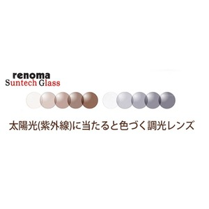レノマNXT 調光オーバーサングラス ブラウン