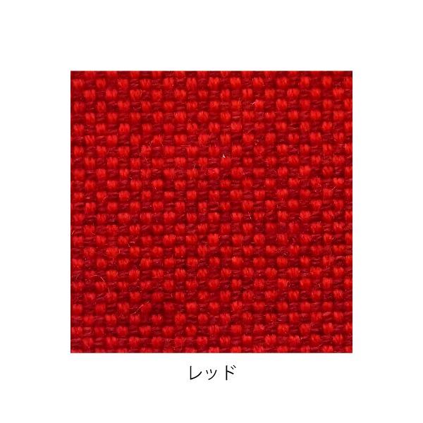 デザイナーズスツール キャスター付き ダーク(布:レッド/エラストマー)【Mona.Dee】モナディー WAS01SC