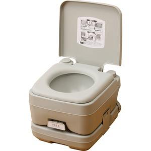 マリン商事 本格派ポータブル水洗トイレ 簡易トイレ 10L SE-70030