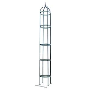 オベリスク エクセレント(つる植物支柱) 高さ 250cm スチールパイプ 日本製 250H 〔園芸 ガーデニング用品〕 - 拡大画像