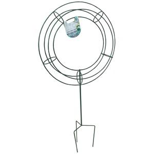 トピアリースタンド/つる植物支柱 【C型】 スチールワイヤー 日本製 〔園芸 ガーデニング フラワー用品〕 - 拡大画像