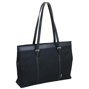 カッコ良さを演出するレディースビジネスバッグ!フォーマルトート ブラック 8070 - 拡大画像