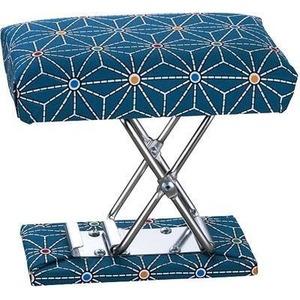 カクセー コンパクトな携帯用正座椅子 折りたたみ式 二段階高さ調整可能 T-Seizaisu - 拡大画像