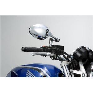 タナックス(TANAX) リュートミラー (メッキ) 10mm正ネジ 左右共通 - 拡大画像