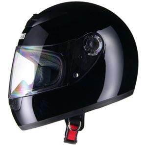 リード工業 (LEAD) フルフェイスヘルメット CR715 ブラックBK フリー - 拡大画像