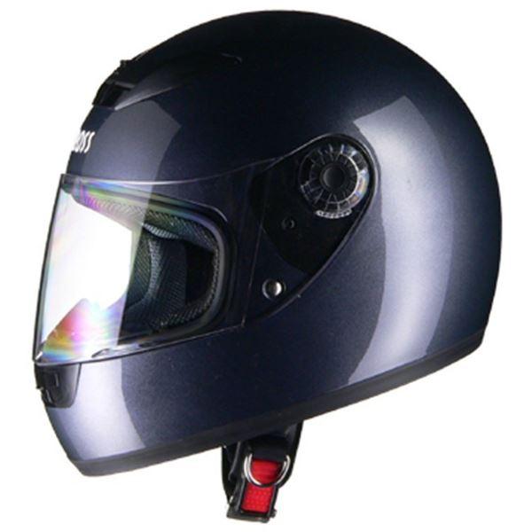リード工業 (LEAD) フルフェイスヘルメット CR715 ガンメタリックGM フリー