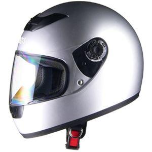 リード工業 (LEAD) フルフェイスヘルメット CR715 シルバーSI フリー - 拡大画像